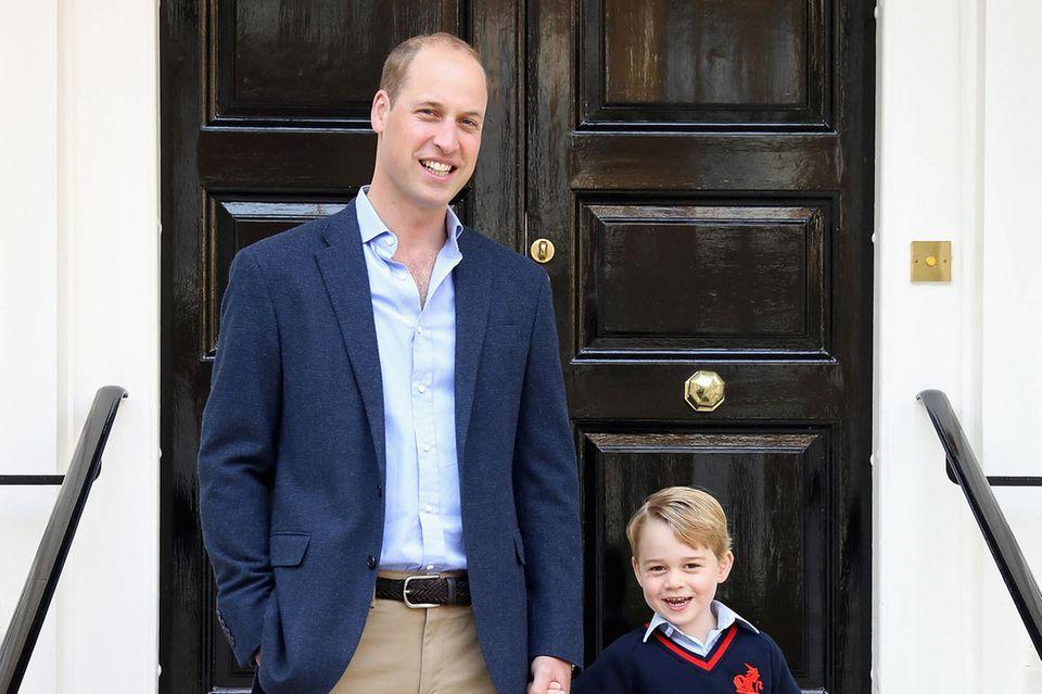 George gilt als Liebling der Queen, die sich regelmäßig von seinen Fortschritten berichten lässt.