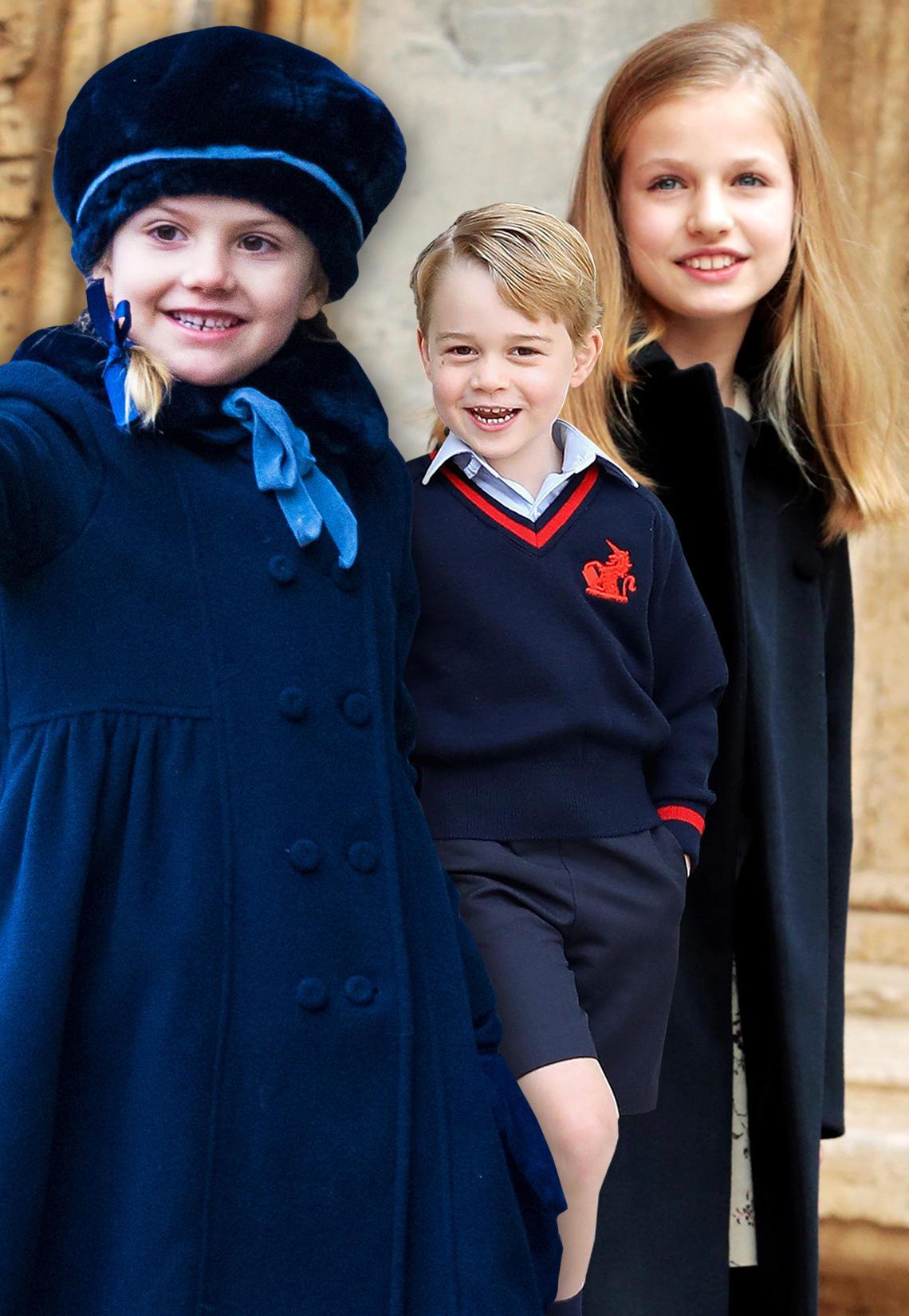 Prinzessin Estelle, Prinz George, Prinzessin Leonor
