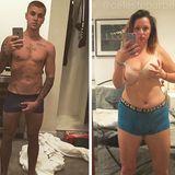 Auch vor männlichen Posen macht der Instagram-Star keinen Halt: In diesem Fall ahmt sie Justin Bieber nach, der mit Sixpack und knapper Shorts sein bestes Stück in den Händen hält. Applaus für so viel Selbstironie, Celeste!
