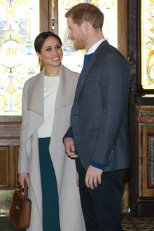 The Look of Love: Meghan Markle und Prinz Harry am 23. März in Belfast