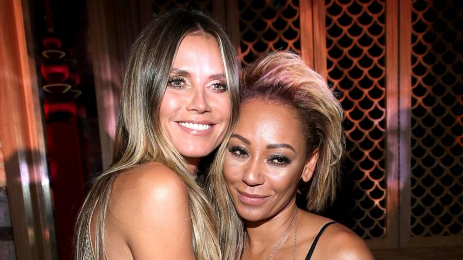 Heidi Klum und Mel B bei den MTV Video MUSIC AWARDS 2017