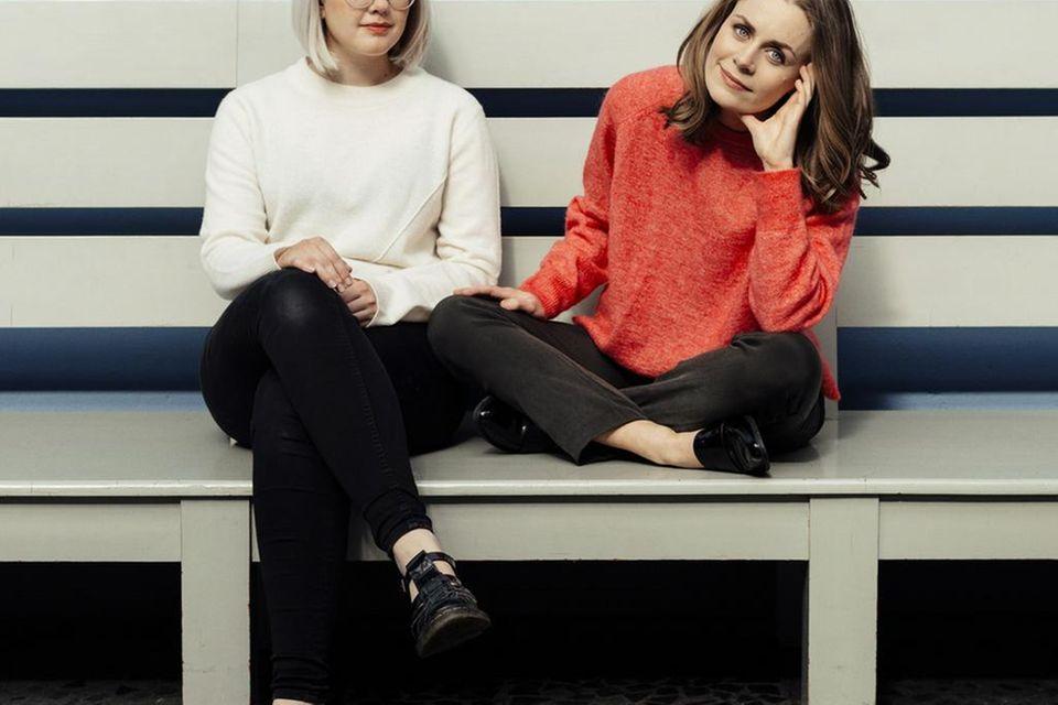 """Ellen Støkken Dahl (links) und Nina Brochmann (rechts) sind die Autorinnen von """"Viva la Vagina!"""""""