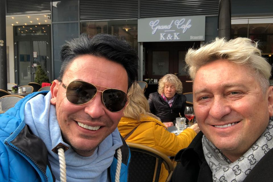 Matthias Mangiapane und Hubert Fella