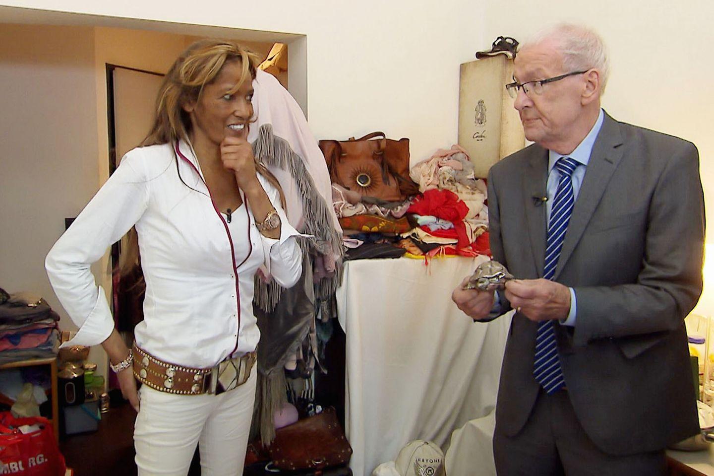 Nadja Abd el Farrag und Peter Zwegat
