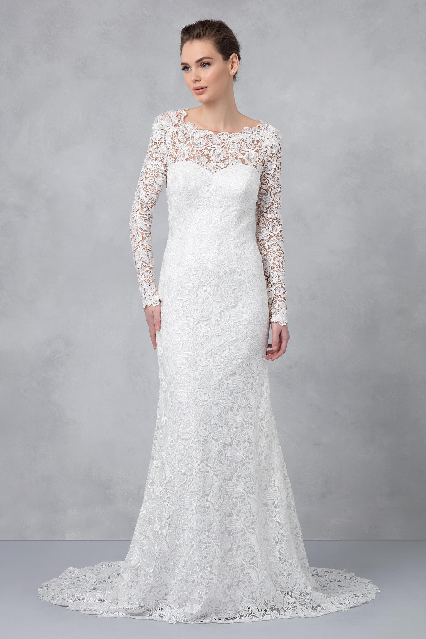 Dieser Traum aus Spitze erinnert an die Hochzeits-Robe von Alessandra von Hannover und kostet umgerechnet knapp 600 Euro.