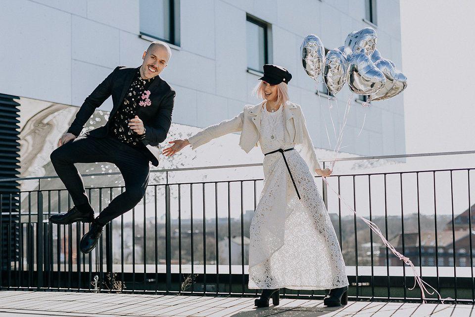 Model Ann Phoung + Patrick Maschke