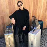 Reisen ist definitiv eine von Ana Ivanovic Leidenschaften. Stylisches Gepäck von Rimowa ist da natürlich ein Muss!