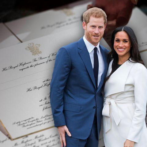Meghan Markle und Prinz Harry laden zu ihrer Hochzeit ein