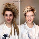 Star-Friseur André Märtens hat der Sängerin Natja Toduia zu ihrem neuen Look verholfen. Wow! Was für eine unglaubliche Typveränderung.