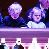 30. März 2018  Die beiden monegassischen Mini-Royals staunen nicht schlecht.