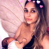 April Love Geary teilt dieses Still-Foto von sich und Töchterchen Mia.