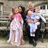 Und nun nochmal ein schönes Familienfoto zu den Festtagen der Baldwins.