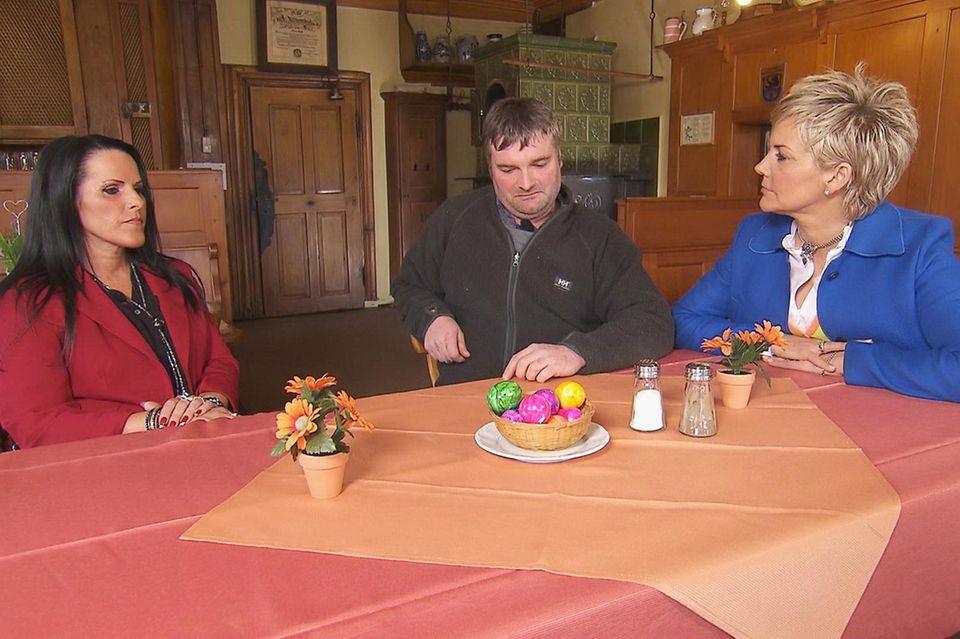 Christa und Klaus Jürgen bekommen Besuch von Inka Bause