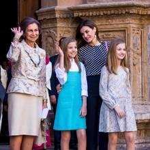 Königin Sofia, Prinzessin Leonor, Königin Letizia + Prinzessin Sofia