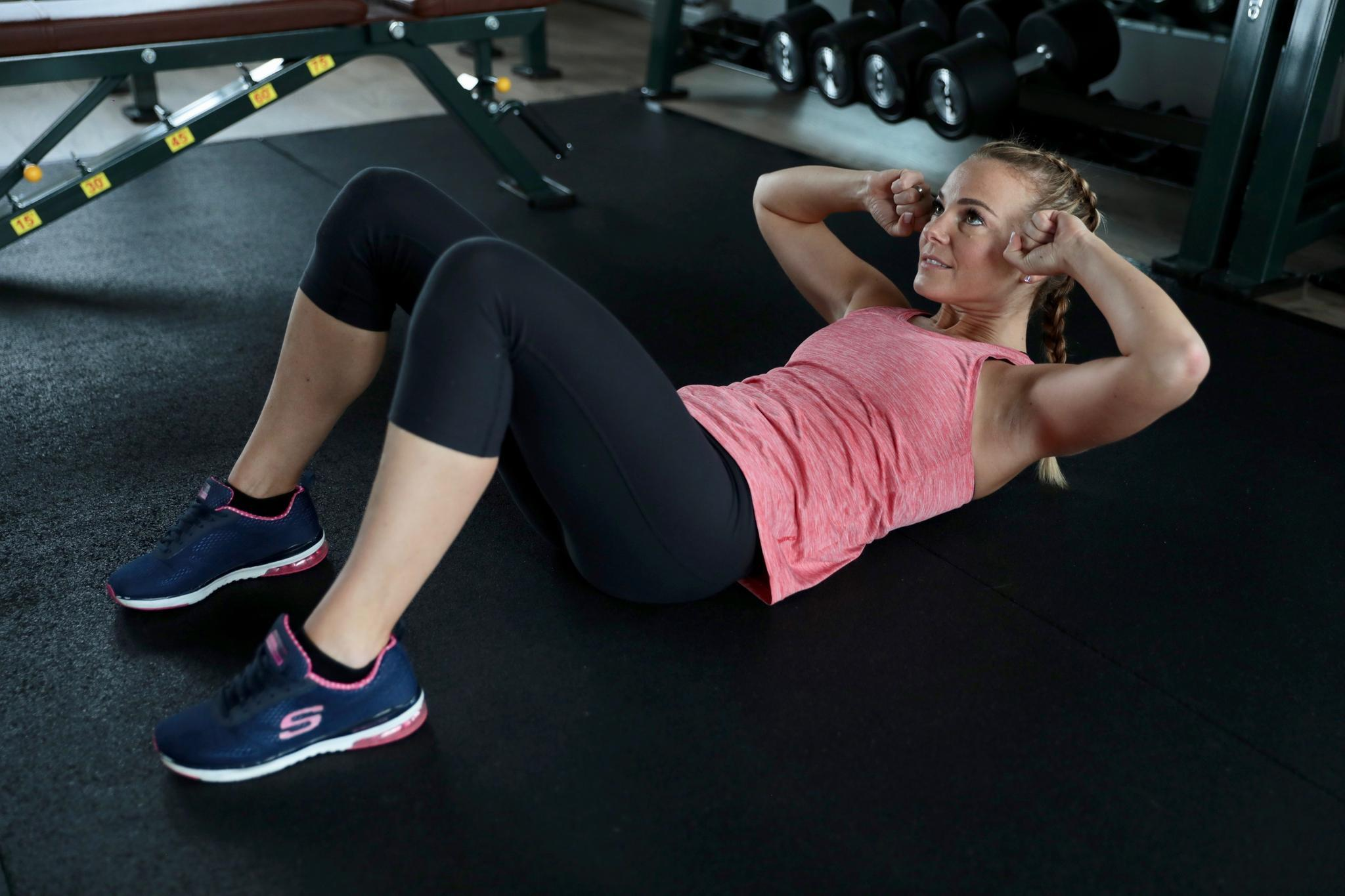 """""""Crunches"""" sorgen für Bauchmuskeln"""