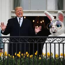 Melania Trump und Donald Trump laden am Ostermontag (2. April) ins Weiße Haus ein