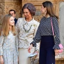 Prinzessin Leonor, Königin Sofia, Königin Letizia, Prinzessin Sofía