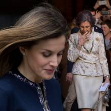 Königin Letizia + Königin Sofia