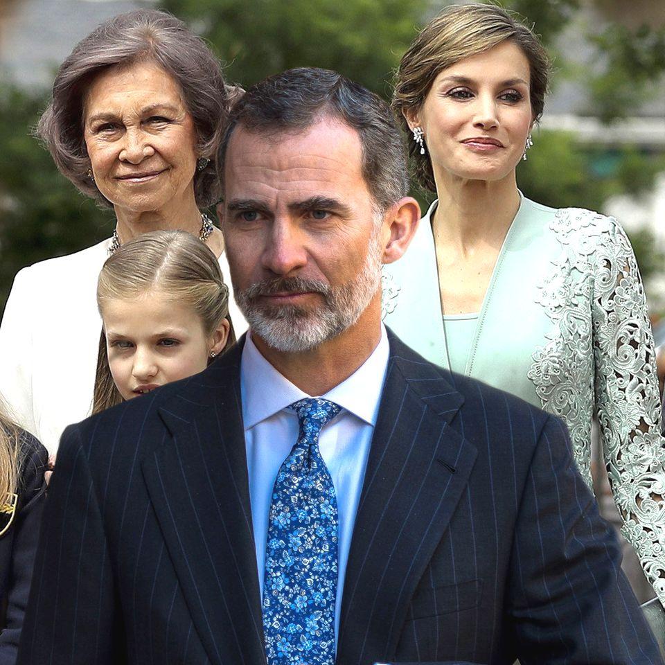 Königin Sofia, König Felipe, Königin Letizia