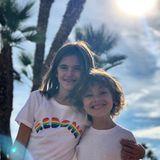 """11. März 2018  """"Ihr seit mein Sonnenschein"""",schreibt Alessandra Ambrosio unter dieses Bild ihrer Kinder Anja und Noah."""