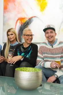Ansgar Brinkmann, Giuliana Farfalla, Natascha Ochsenknecht + David Friedrich