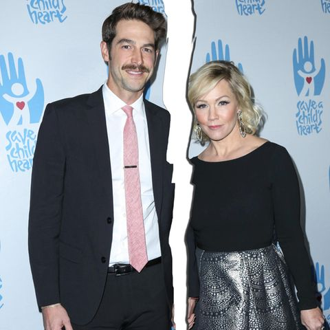 Dave Abrams und Jennie Garth