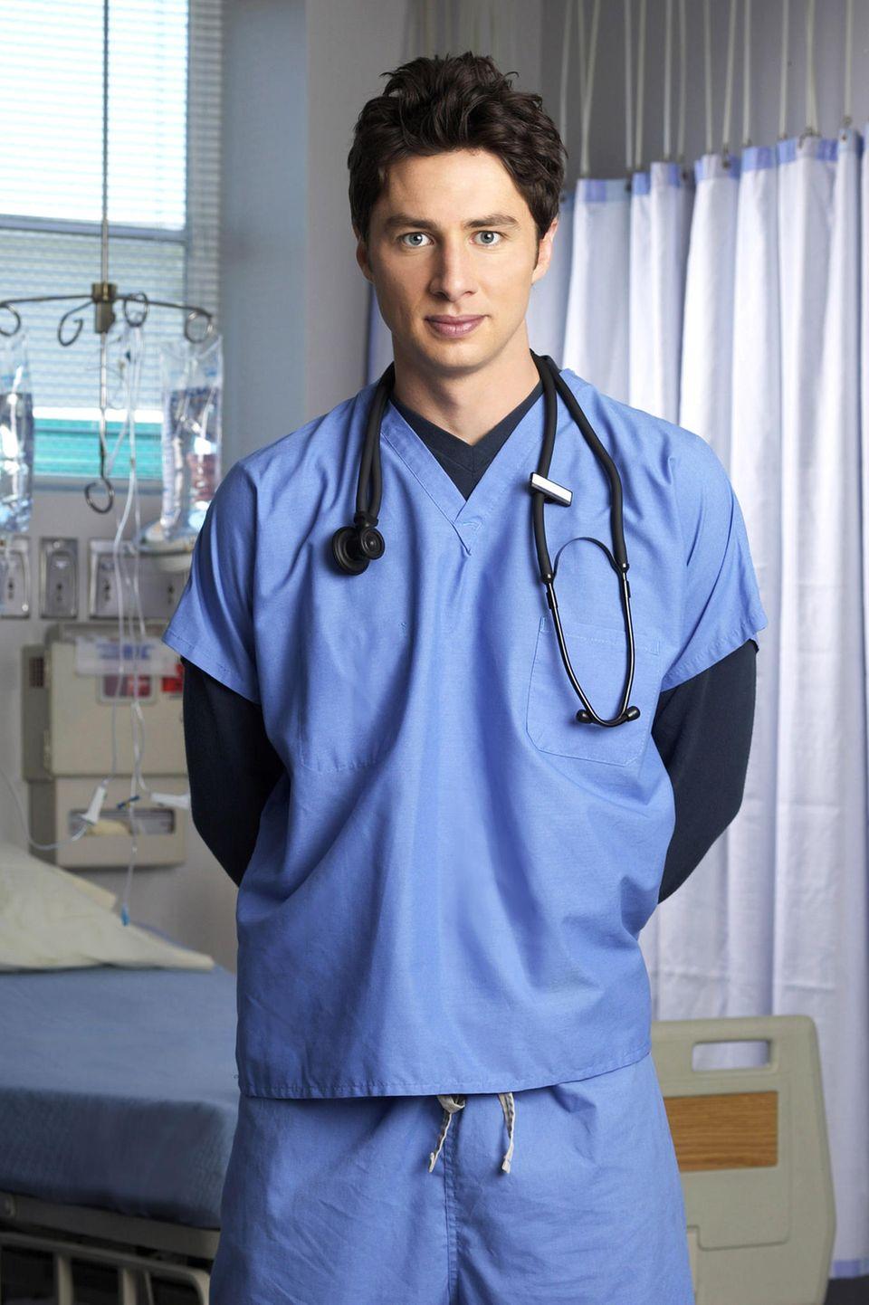 """Zach Braff macht als trotteliger Jungarzt John Dorian in """"Scrubs"""" die """"Bromance"""" salonfähig und sichert sich via Facebook und Twitter die Unterstützung einer großen Fanschar - die hat sogar schon einen Film von ihm finanziert. Doch was macht der Schauspieler eigentlich heute?"""