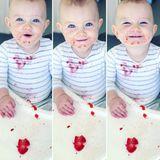 6. April 2018  Süße Erdbeeren sind den Kleinen am Liebsten. Auch Cooper Keating liebt sie süßen Früchte.