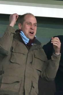 Prinz William: So ausgelassen genießt er die letzte Auszeit vor der Geburt