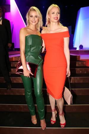 Lena Gercke und Franziska Knuppe bei den About You Awards 2017.