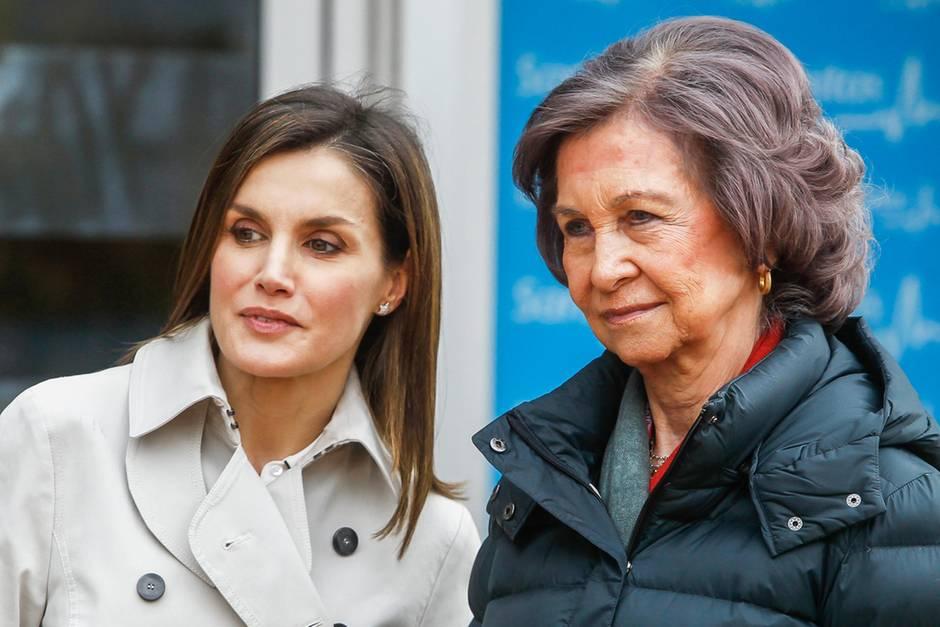 Königin Letizia und Alt-Königin Sofia