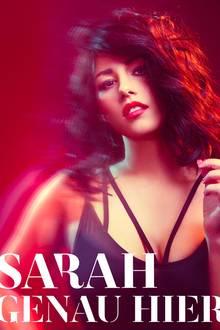 Auf dem Cover ihrer neuen Single zeigt sich Sarah als rockiger Vamp. Knallrote Lippen, wild gelockte Haare und ein schwarzer Strap-Bra lassen sie sexy und cool aussehen. Es ist die erste Single ihres neuen Albums und der Beginn ihres musikalischen Comebacks.