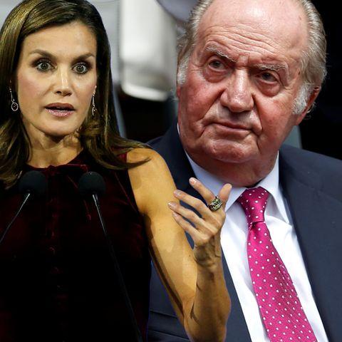 Königin Letizia, König Juan Carlos