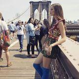 ... oder in New York. Carolin Sünderhauf ist in den großen Mode-Metropolen erfolgreich unterwegs. Nur ins Fernsehen ist sie nie zurückgekehrt.