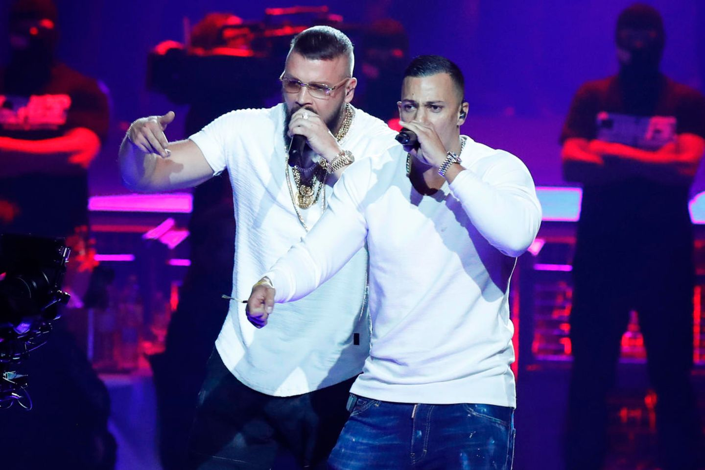 Rapper Kollegah und Farid Bang