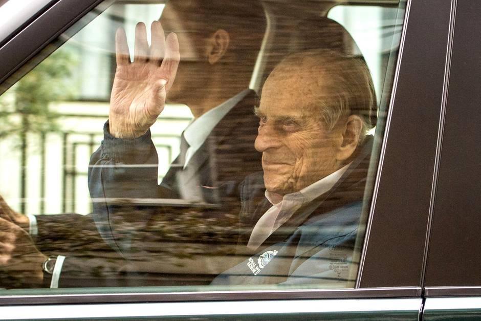 Prinz Philip aus Krankenhaus verlassen