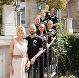 Shan Rahimkhan ist mit seinem Team nach Baden-Baden gekommen - echte Haarkünstler, die die Gästen mit einem umwerfenden Hair-Styling verwöhnen.