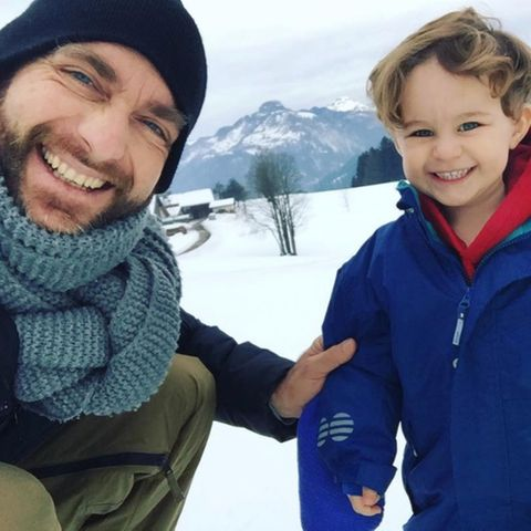 Tim Lobinger und Sohn