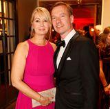 """Nils Behrens (Lanserhof Management GmbH) und Tina Behrens gehen mit einer Nominierung in der Kategorie """"Medical & Health Concepts"""" in den Abend."""