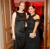 Ladies in Black: Antje Wehrle (G+J) und Sara el Raddaf (Laboratorie Biosthétique).