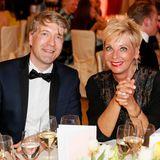Frank Vogel (G+J) und Andrea Kästel (Sisley Vertriebs-GmbH) während der Verleihung.