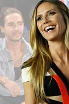 Tom Kaulitz und Heidi Klum turteln