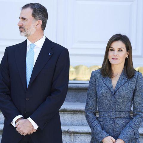König Felipe + Königin Letizia