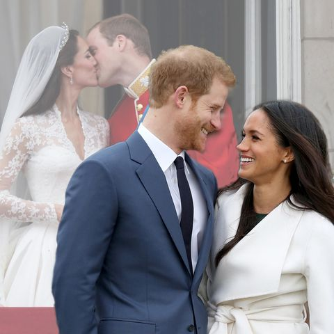 Herzogin Catherine, Prinz William, Prinz Harry + Meghan Markle