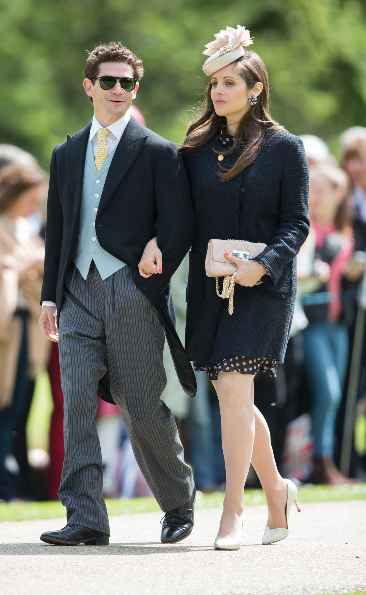 Sam and Isabella Waley-Cohen waren auch zur Hochzeit von Kates Schwester Pippa eingeladen.