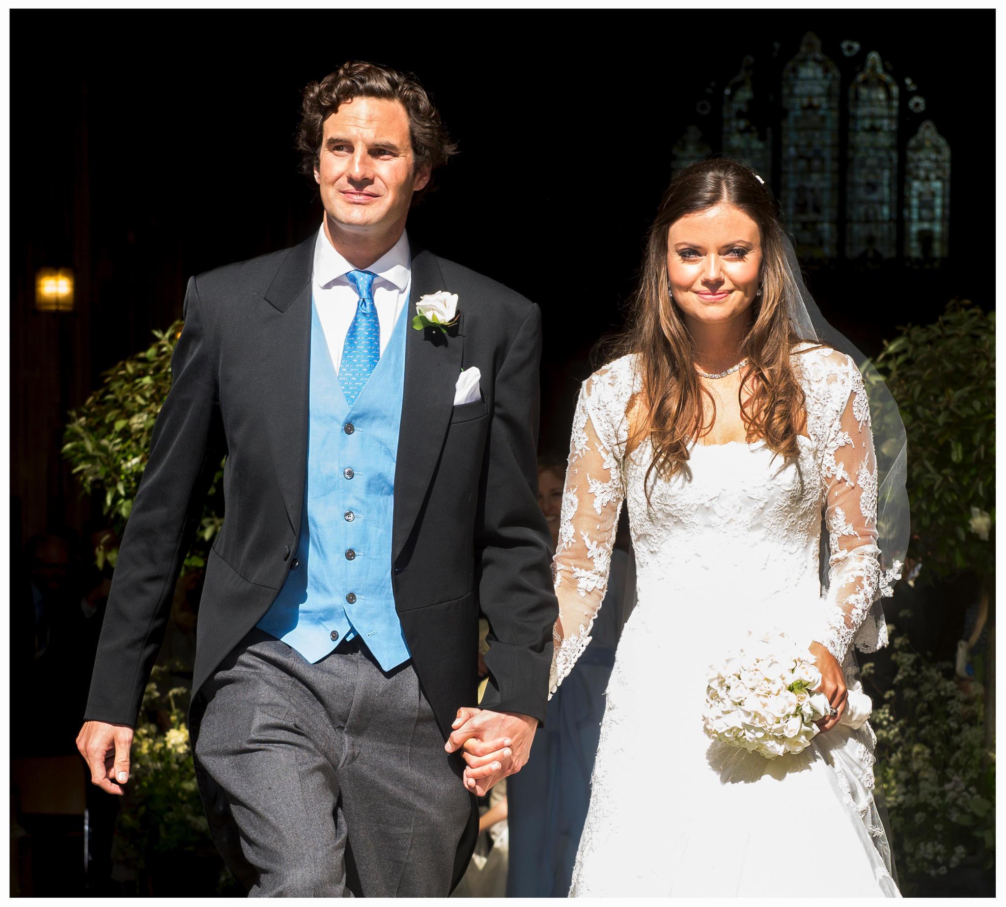 2013 heiratete Lady Natasha Rufus Isaacs Rupert Finch.