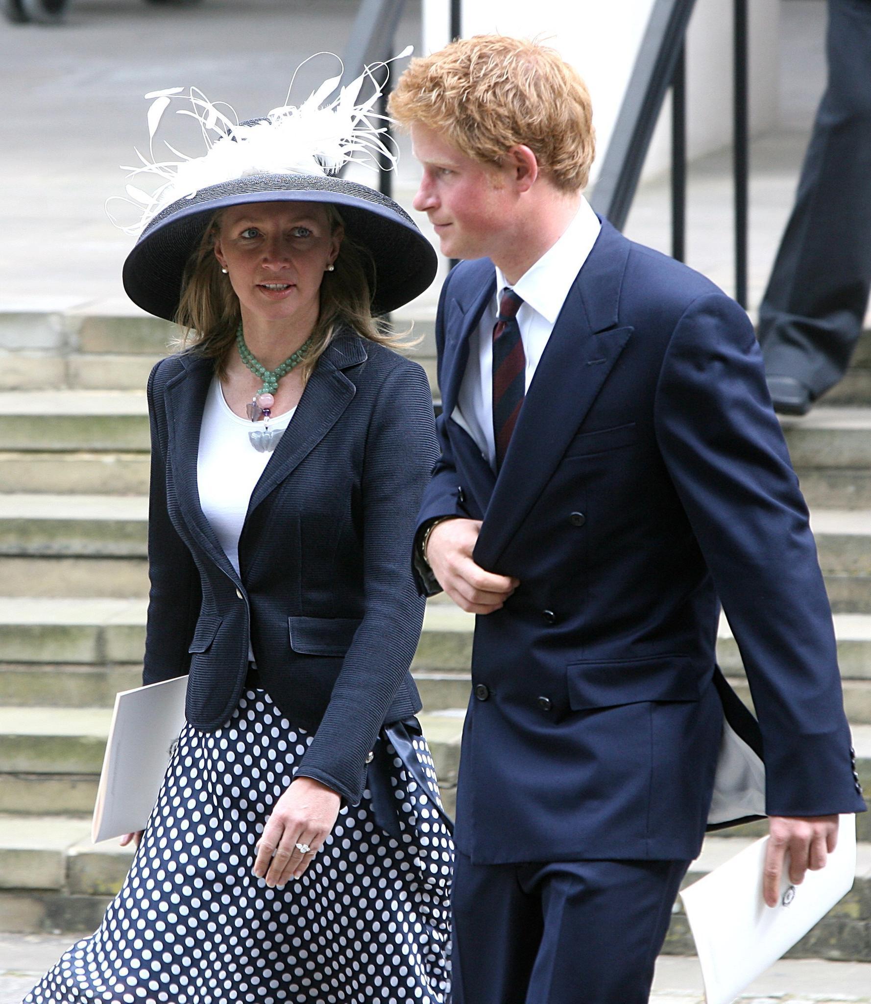 Dieses Foto ist schon einige Jahre alt: Tiggy Pettifer und Prinz Harry.