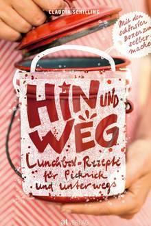"""Picknick, Party, Mittagspause: Foodstylistin Claudia Schilling präsentiert 170 süße und herzhafte Rezeptideen für den Alltag auf Achse. Als Extra gibt es Tipps zur Gestaltung cooler Retro-Lunchboxen. (""""Hin und weg"""", AT Verlag, 350 S., 34 Euro)"""