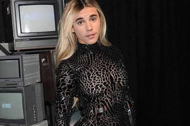 """19. März 2018  """"Ihr müsst meine Schwester Rachel Bieber treffen"""", postet ein photoshopfreudiger Justin Bieber."""