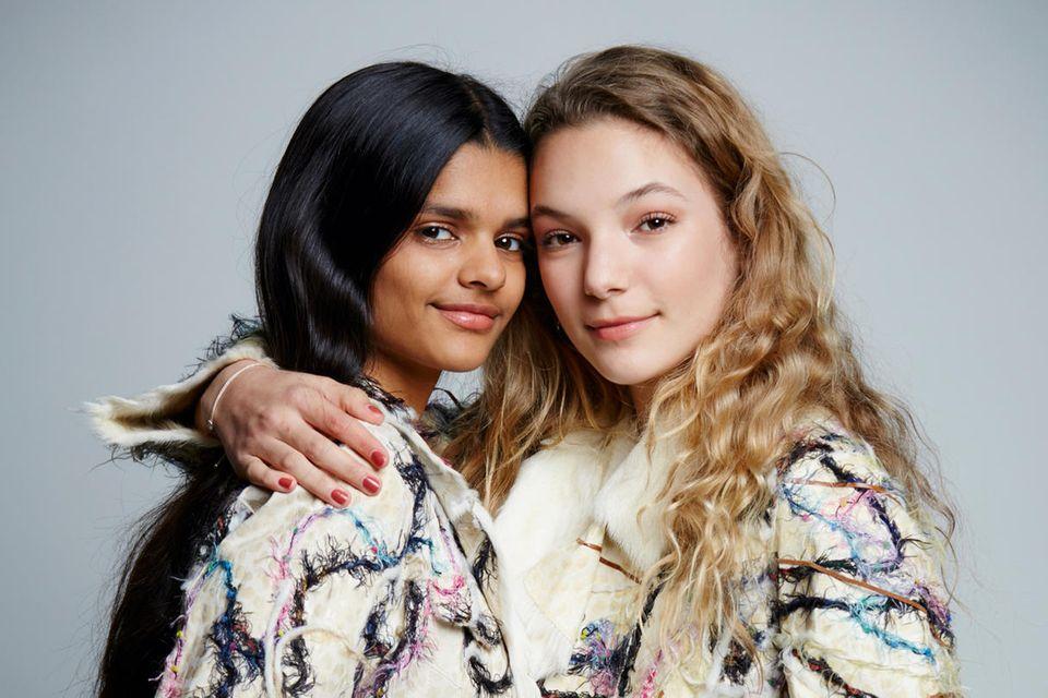 """Nisha und Nicita sind Fans von Bloggern und Influencern. Auch sie wollen bei Instagram inspirieren, unter """"nishastockmann"""" und """"nici.stc"""""""